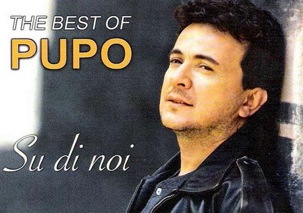 Итальянский певец Пупо
