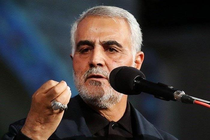командующий Аль-Кудс Касем Сулеймани