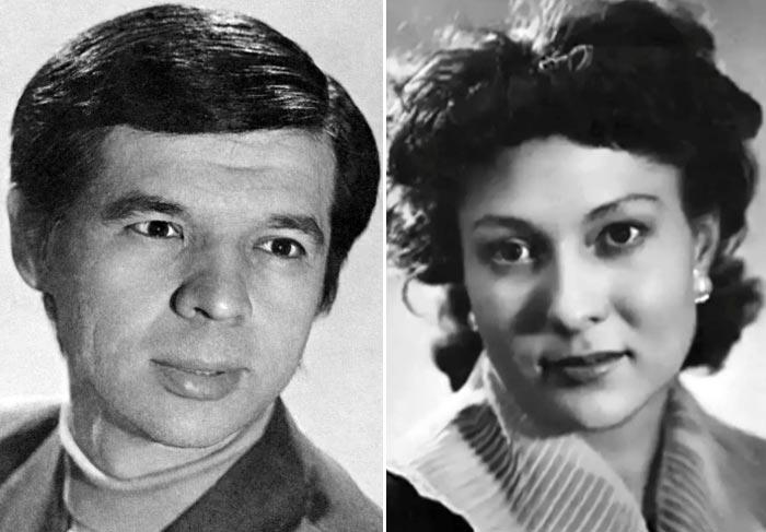 Раднэр Муратов и жена Елена Довлатбекова