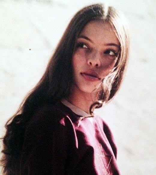 Регина Бурд в юности