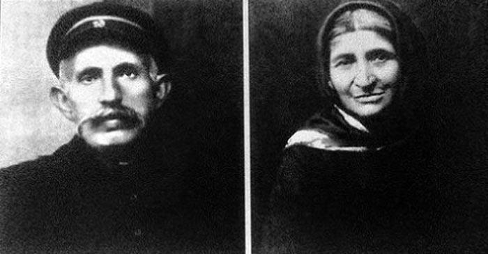 Родители Ивана Баграмяна