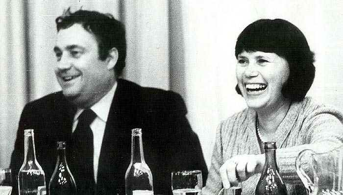 Родители Ольги Рязановой