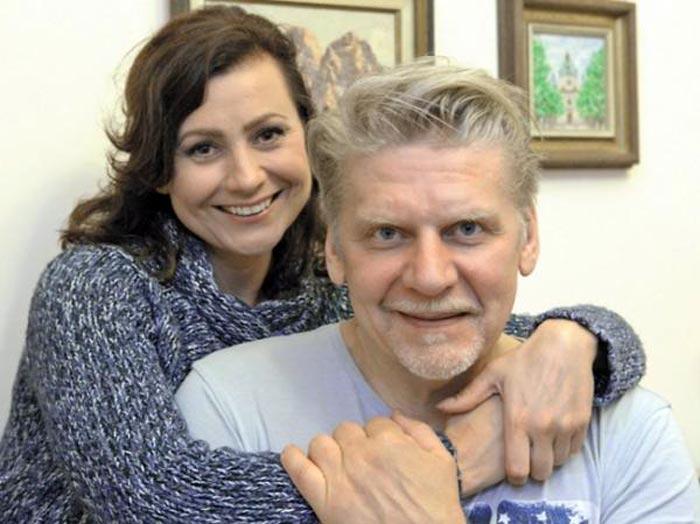 Сергей Калантай и жена Наталья