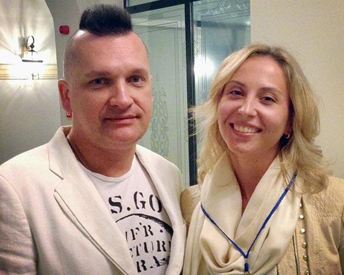 Сергей Лемох и Екатерина Канаева