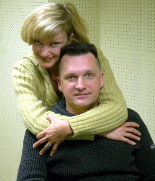 Сергей Лемох и первая жена Наталья