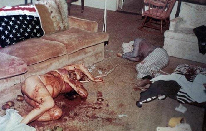 Убитая Шэрон Тейт