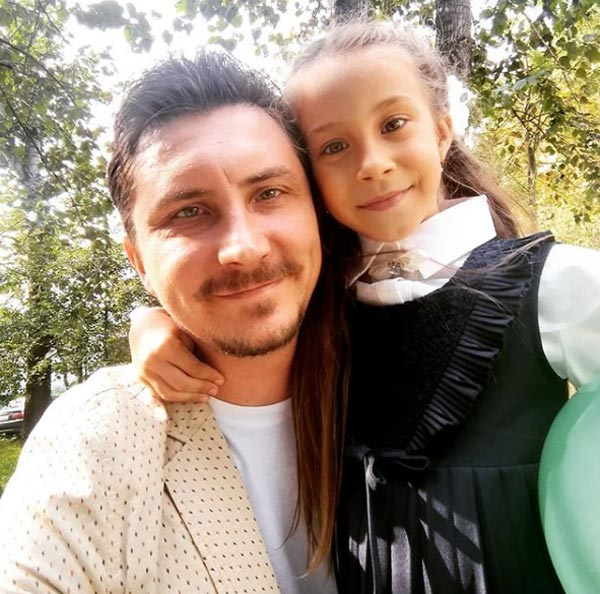 Евгений Яковлев и дочь Лиза