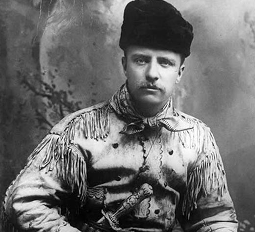 Теодор Рузвельт в молодости