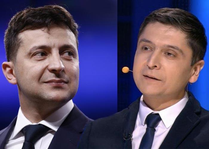 Умиджон Исабоев и Владимир Зеленский