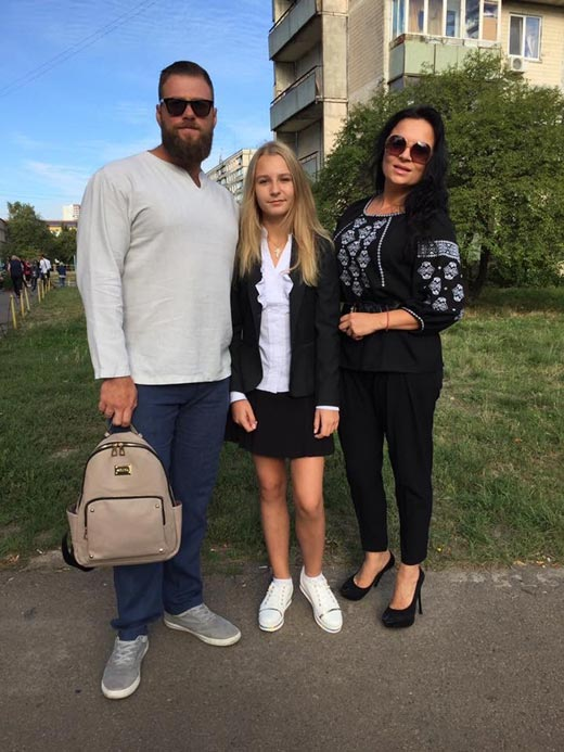 Виктория Билан Владимир Ращук дочь Катерина