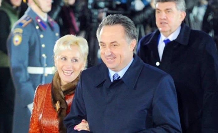 Виталий Мутко и жена Татьяна