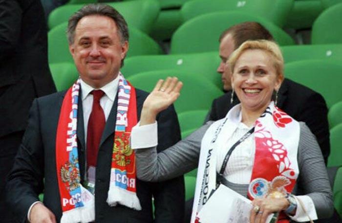 Виталий Мутко и жена Татьяна 2