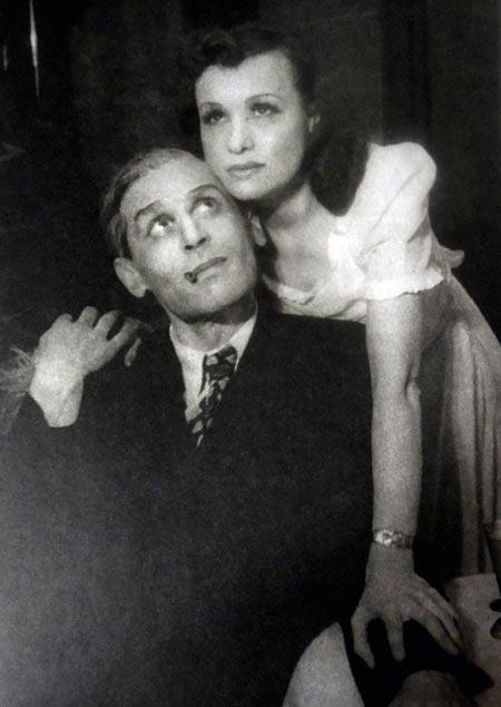 Валентина Токарская и Рафаил Холодов