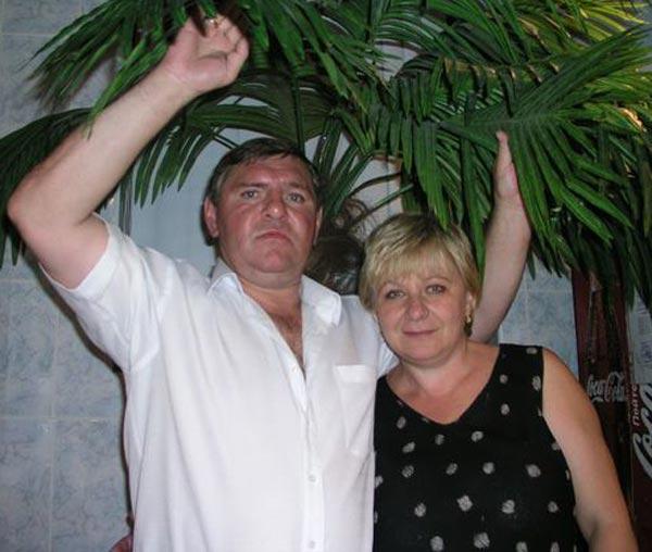 Владимир Крутов с женой