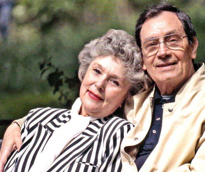 Владимир Ушаков и жена Вера Васильева
