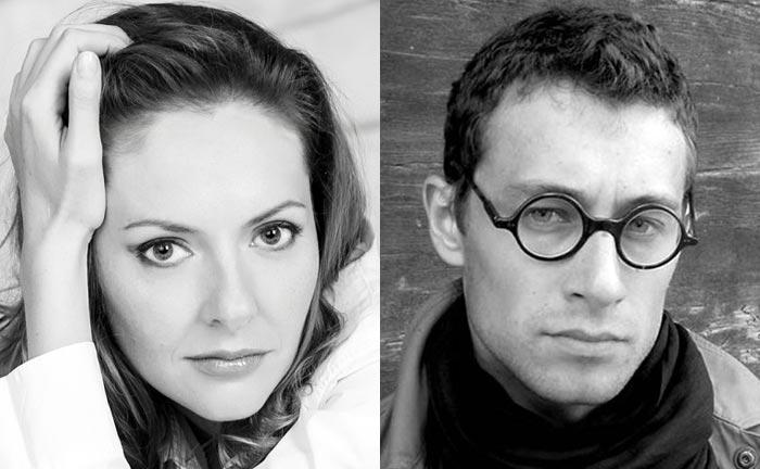Юлия Марченко и Олег Еремин