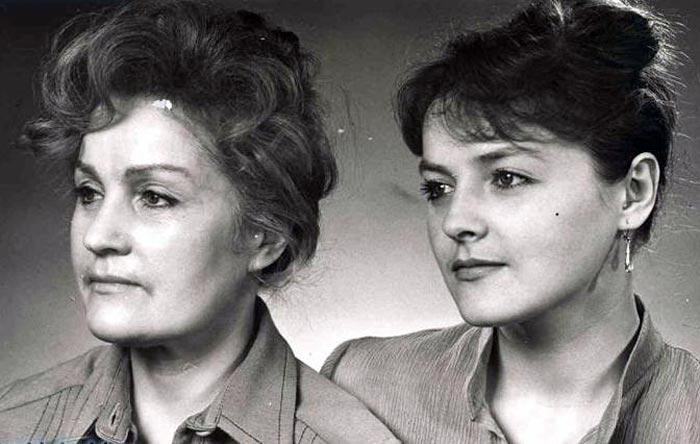 Юлиана Бугаева и дочь Ольга Битюкова