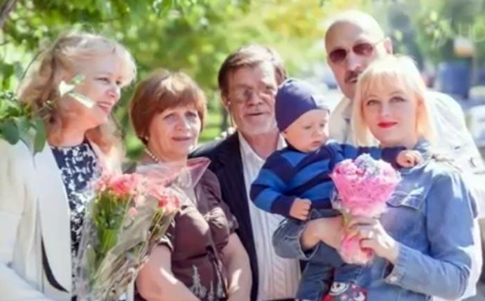 Юрий Лопарев Ирина Фролова сын Максим