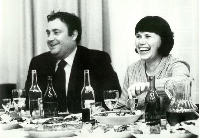 Зоя Фомина и Эльдар Рязанов