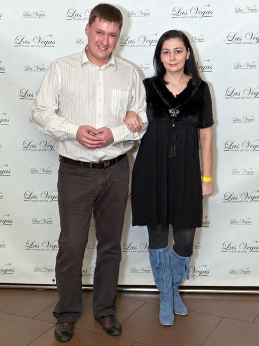 Алесь Мухин и жена Татьяна