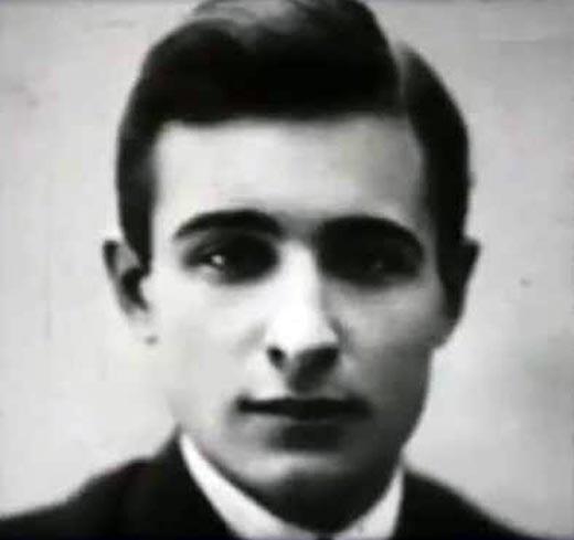 Александр Роу в молодости