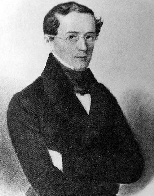 Александр Горчаков в молодости