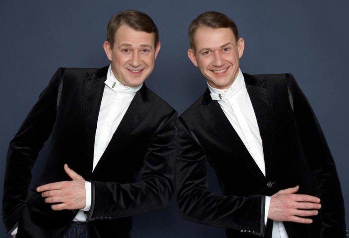 Братья Александр и Валерий Пономаренко
