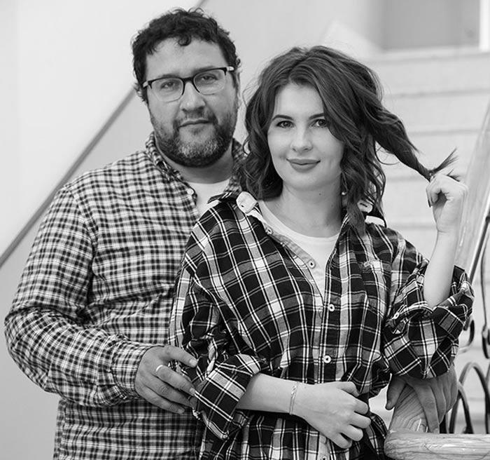 Александр Котт и Анна Цуканова-Котт