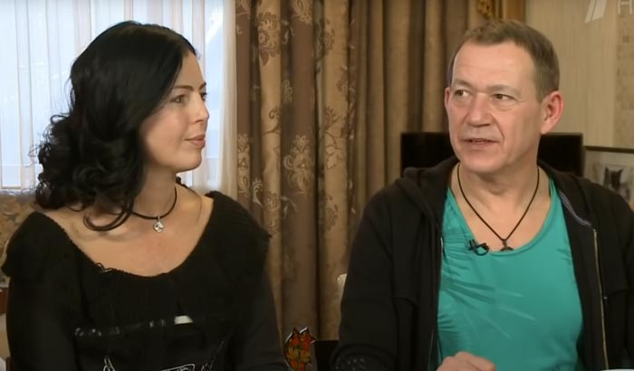 Александр Пономаренко и жена Анна