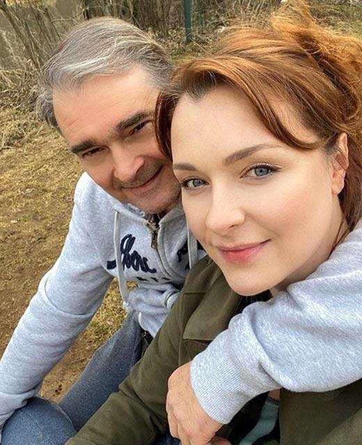 Александр Жигалкин и Светлана Антонова
