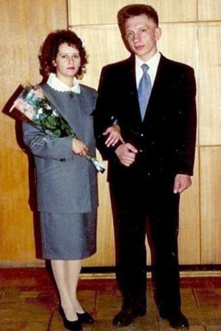 Алексей Фомкин и жена Елена