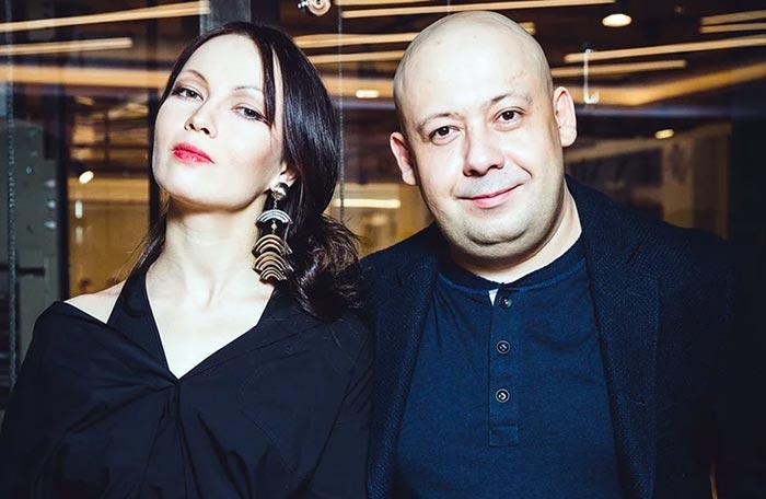 Алексей Герман младший и жена Елена Окопная