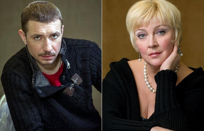 Алексей Одинг и жена Алла Одинг