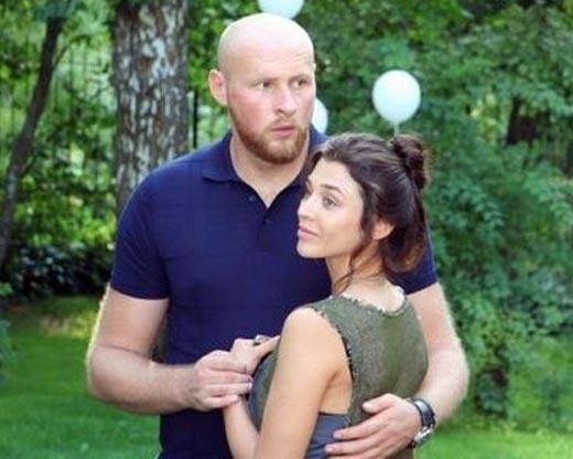 Алина Астровская и второй муж Игорь