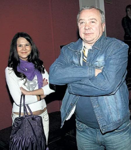 Алина Восток и Сергей Проханов