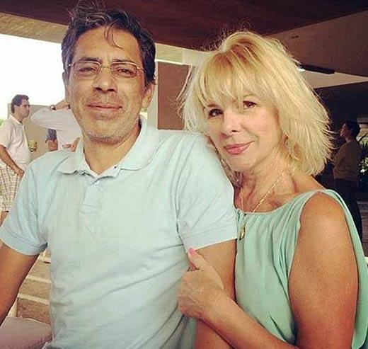 Алла Каштанова с мужем