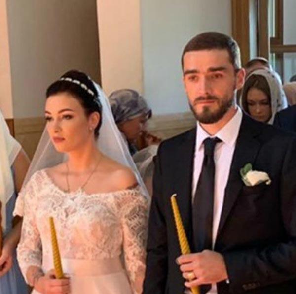 венчание Анастасия Приходько и муж Александр