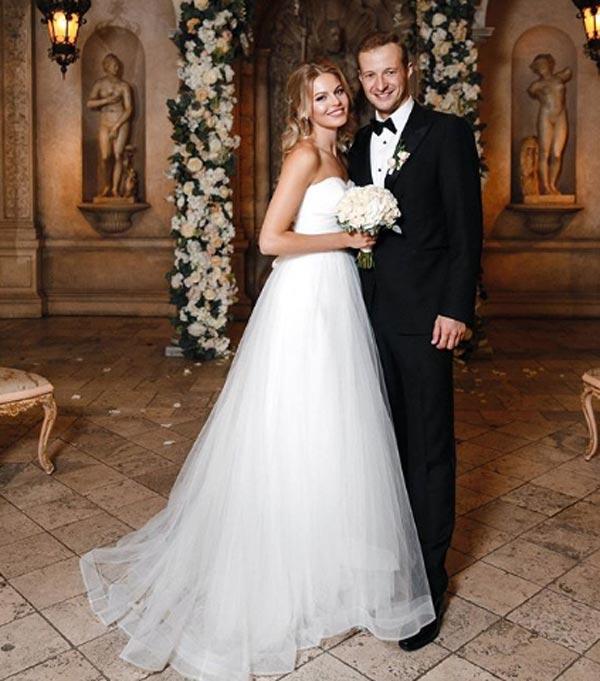 Анастасия Стежко и муж Дмитрий