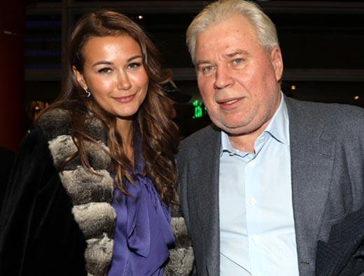 Анатолий Кучерена и жена Анастасия Турабова
