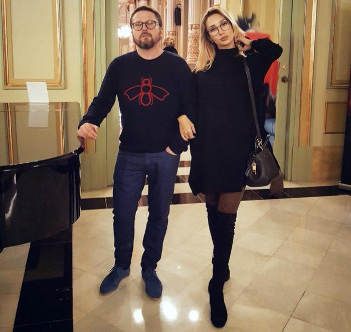 Анатолий Шарий и жена Ольга Шарий