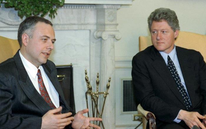 Андрей Козырев и Билл Клинтон