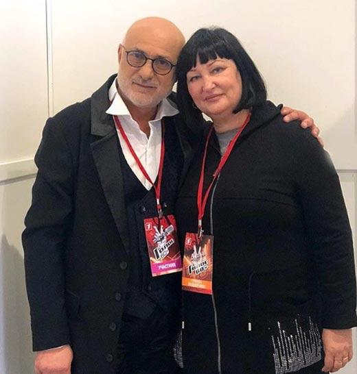 Андрей Папазян и жена Ирина