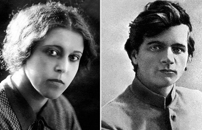 Андрей Платонов и жена Мария Кашинцева
