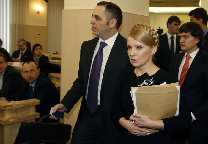Андрей Портнов и Юлия Тимошенко