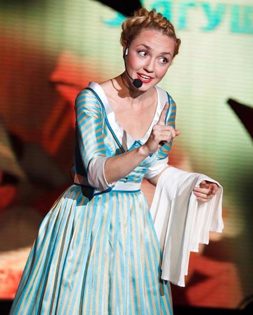Анна Бутурлина в мюзикле Пенелопа
