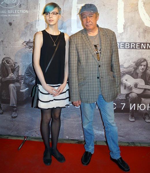 Анна-Мария Ефремова и отец Михаил Ефремов