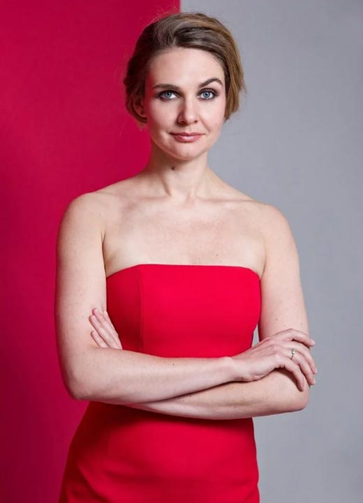 радиоведущая Анна Шафран