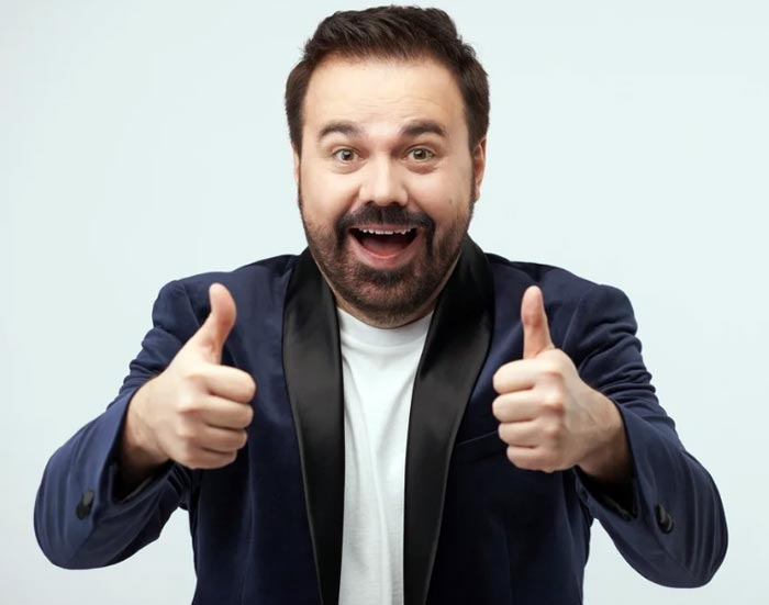 шоумен Антон Лирник