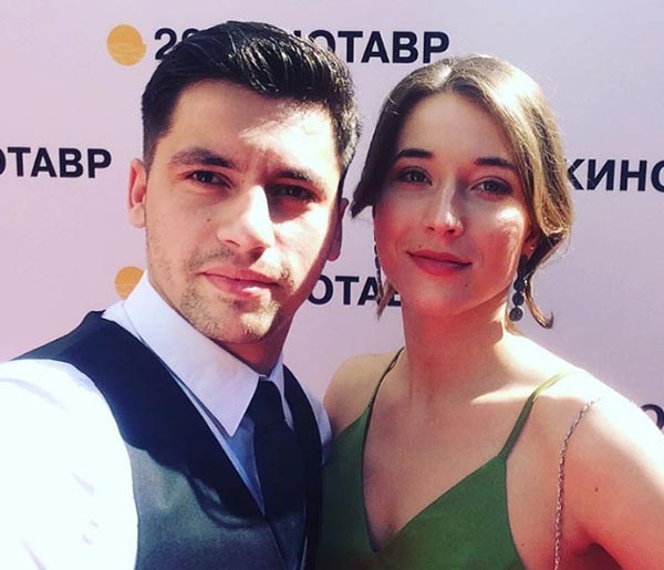 Антон Момот и жена Софья Карабулина