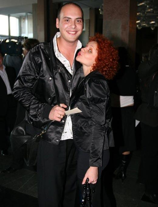Антон Привольнов и бывшая жена Ольга